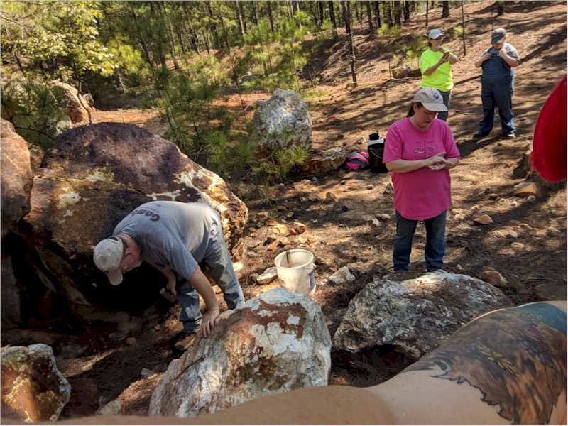 Graves Mountain Dig