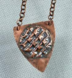 Gloria Adams - Copper Pendant