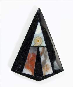 Steve Adams - Intarsia with Ocean Jasper, Paint Rock, and Goldstone
